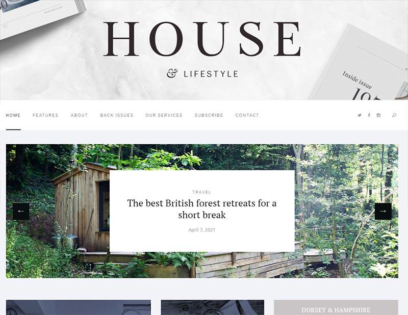 house-mag-website